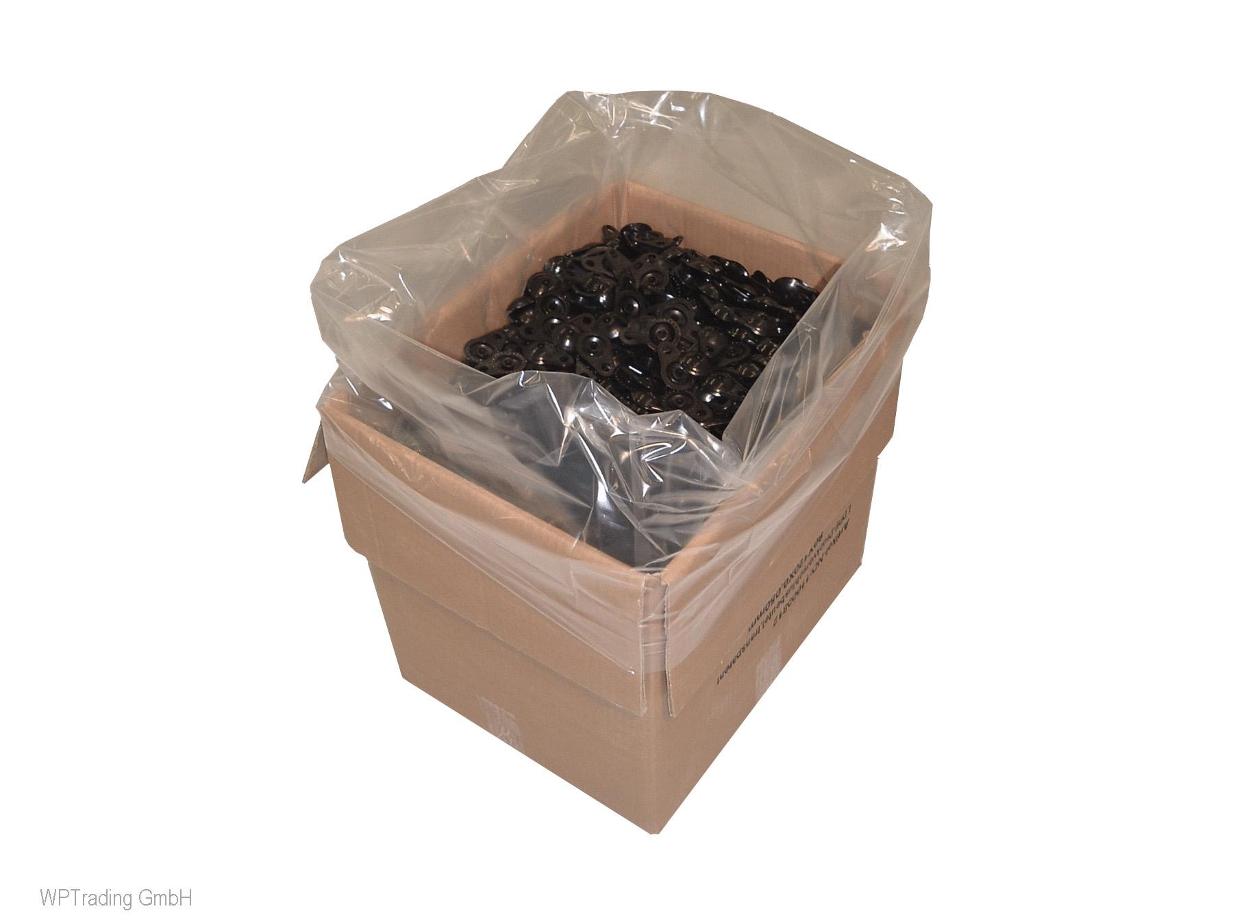 Seitenfaltensack 1250+850x1700mm Gitterbox Inlay 35µ 100 Stück// Karton