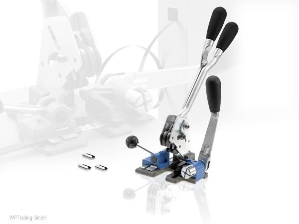 Spann- und Verschlussgerät für PP Umreifungsband